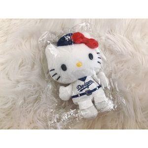 Dodgers x Hello Kitty mini plushie